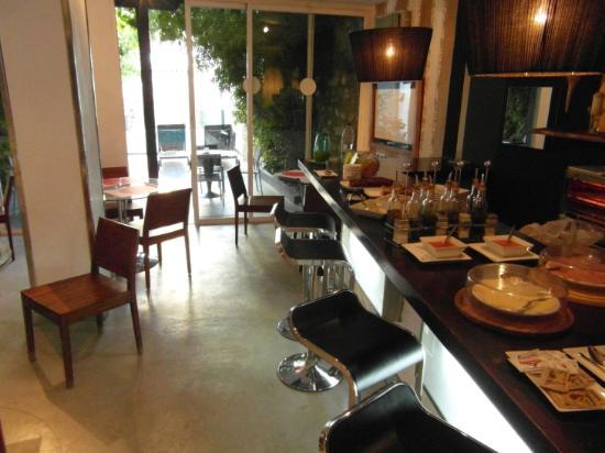 Hospederia Fuentenueva: breakfast room