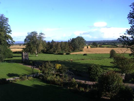Rowton Castle: View from Room 2