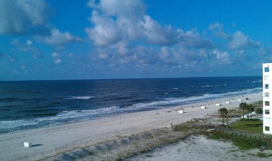 "Hampton Inn & Suites Orange Beach : Taken from our ""side-view"" balcony..."