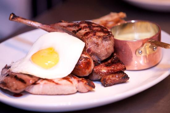 Victory Chop & Ale House: Our Famous Mixed Grill