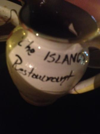 The Islands Restaurant: house wine