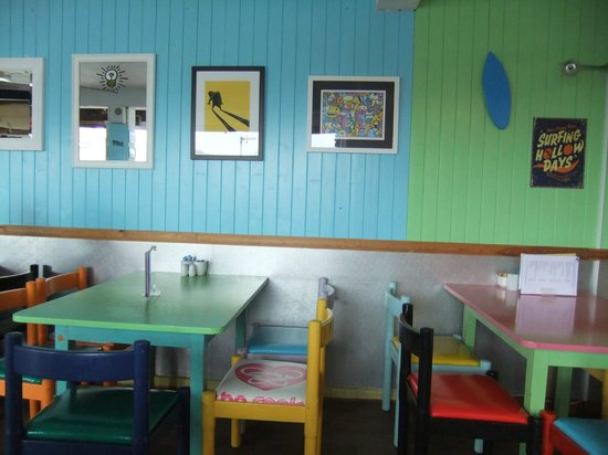 Atlantic Diner: cool colours