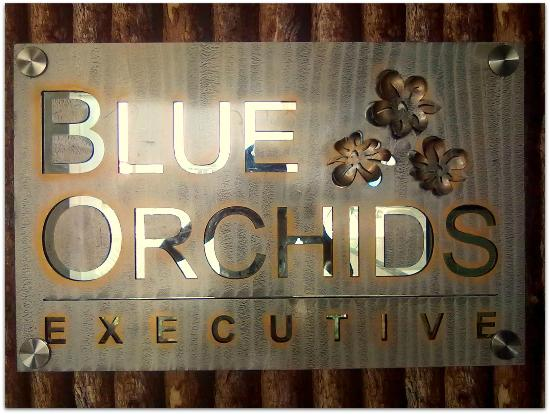 Blue Orchids Executive : Hotel Reception1