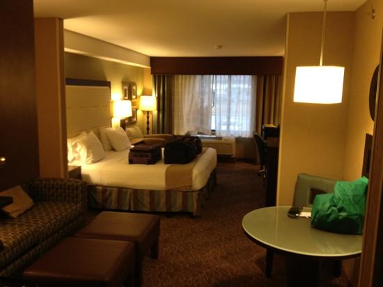 Holiday Inn Express Hotel & Suites Logan: entrance to first room, second room is to the right