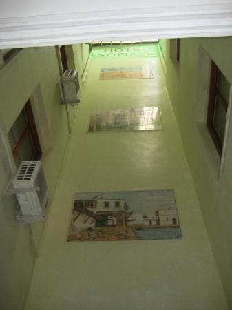 Hotel Sofiane : puits de jour