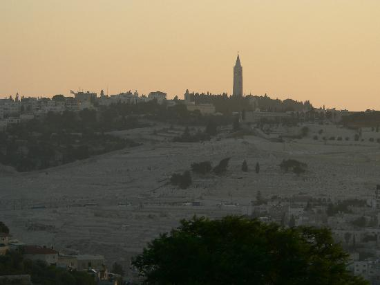 Dan Boutique Jerusalem: Another morning view