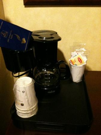 BEST WESTERN PLUS Ticonderoga Inn & Suites: caffé