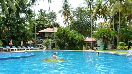 Akhil Beach Resort: Pool and Kerala-Style House