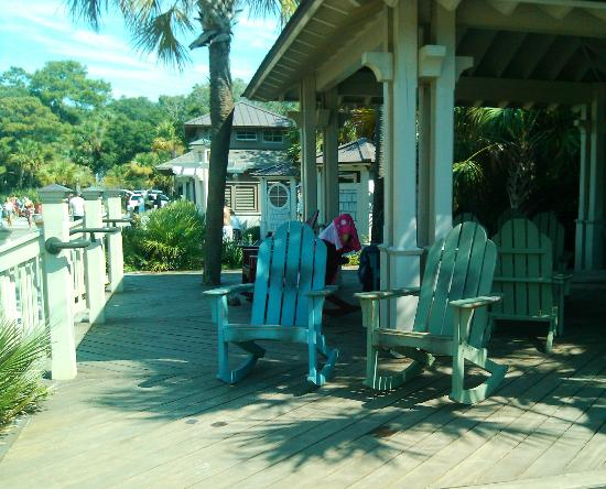 Sands Village At North Forest: Rocking Chairs
