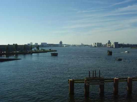 Amstel Botel: The view