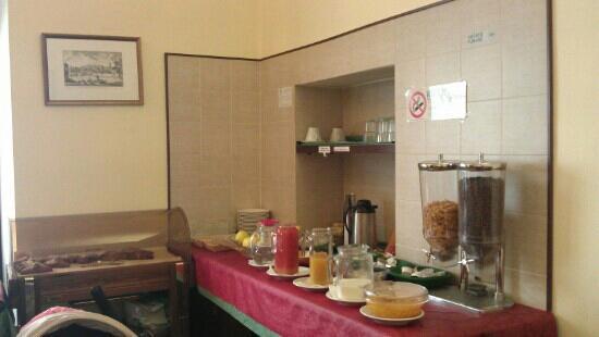 Hotel Trastevere: breakfast