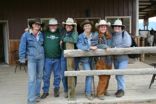 Sun Mountain Lodge: The crew- our four wranglers