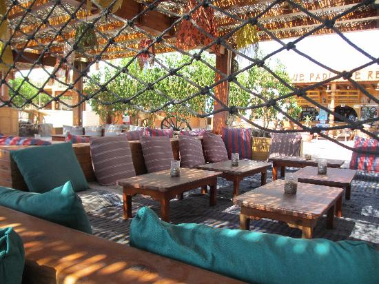 Star Of Dahab Hotel: Wonderful chilling out area.