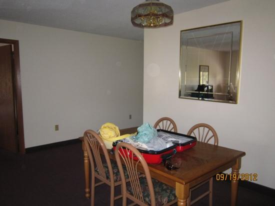 Econo Lodge: dining room