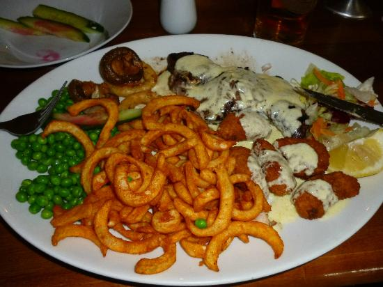 Noahs Ark: surf and turf