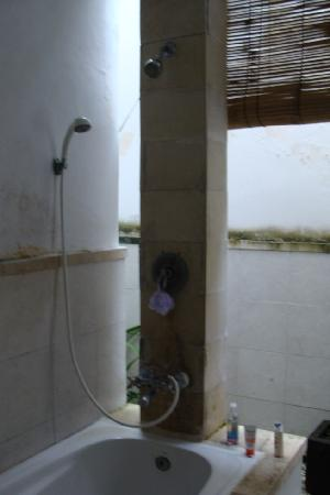 Pendawa Hotel: Bathroom and shower