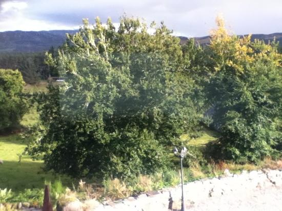 Auchterawe Country House: view from our room