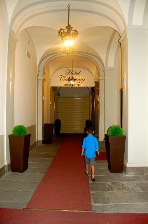 Hotel California Florence: Entrance to the hotel