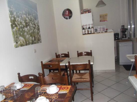 Hotel Musset: new breakfast room