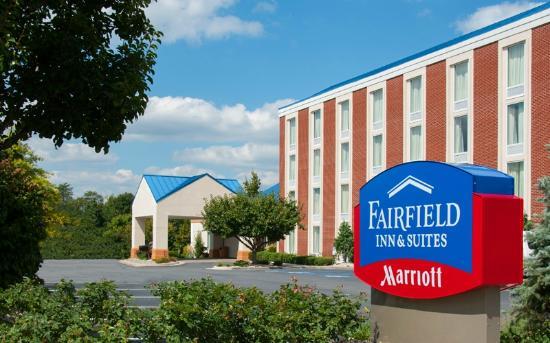Fairfield Inn & Suites Beckley: The main entrance for the Fairfield Inn & Suites