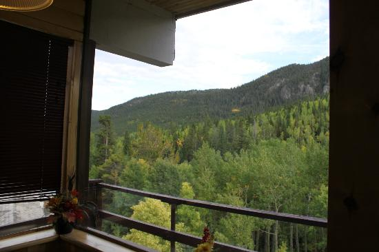 Monarch Mountain Lodge: View from my dining table