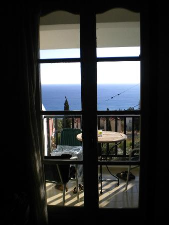 Maria Anna Hotel: Beautiful sea view from the second floor room