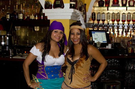 Corona Cigar Company & Diamond Crown Cigar : Our bartenders in the spirit of Halloween.