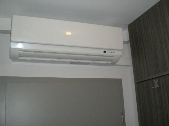 Hotel Ambiente: Klimaanlage - kein High End, aber ok