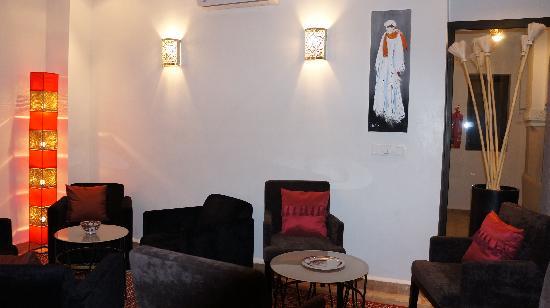 Riad Shanima & Spa: salon
