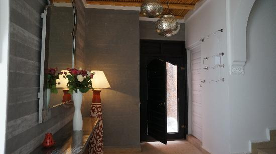 Riad Shanima & Spa: entrée