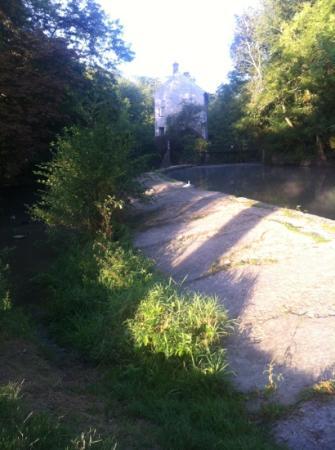 Le Moulin de Saint Martin: from the field next door