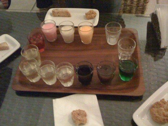 Enoteca la Stadera: assaggio dei liquori