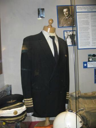 Foynes Flying Boat Museum: Uniform of a very special pilot