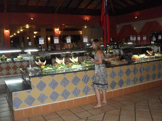 Caribe Club Princess Beach Resort & Spa: Main buffet