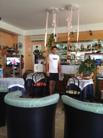 Hotel Eugenio: ...il caffettaio!!!