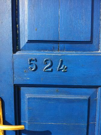 Aegean View Hotel: room door