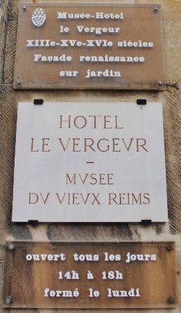 Hotel Le Vergeur Museum