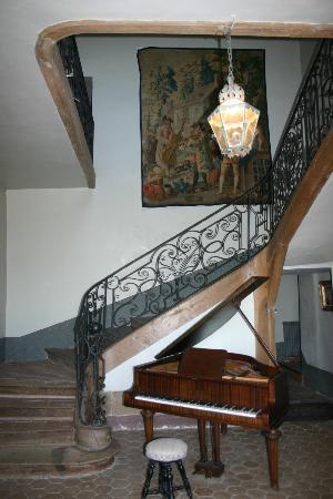 Chateau Lambert: Scalone di accesso alle camere