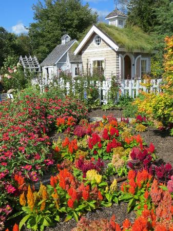 Coastal Maine Botanical Gardens: the children's section