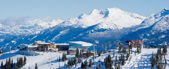 Spectacular views on Whistler Mountain. Photo credit: Mike Crane