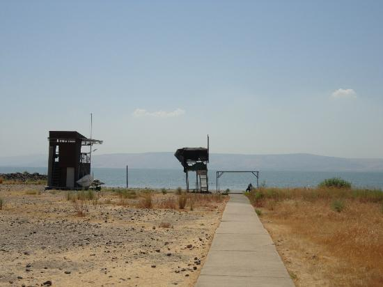 Kinar Galilee Hotel : Beach for women