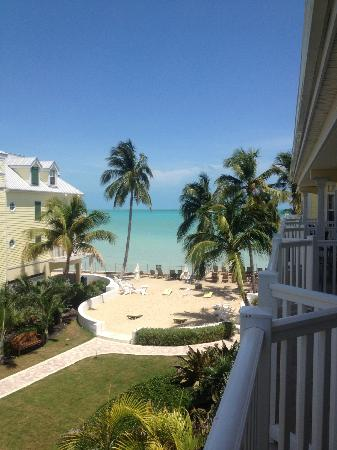 Southernmost Beach Resort: view from balcony of our oceanview room...beautiful!