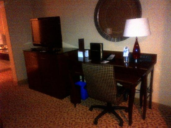 Vancouver Airport Marriott Hotel: Work Station