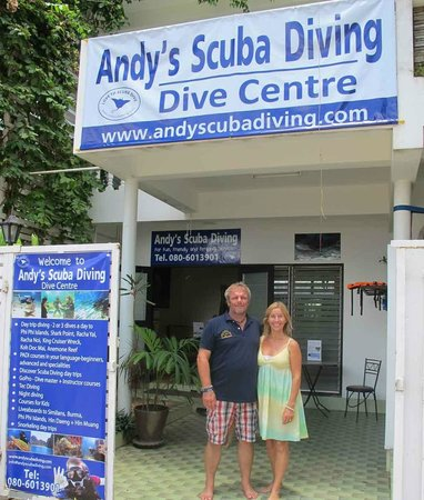Rawai, Thailand: Andys Scuba Diving Centre