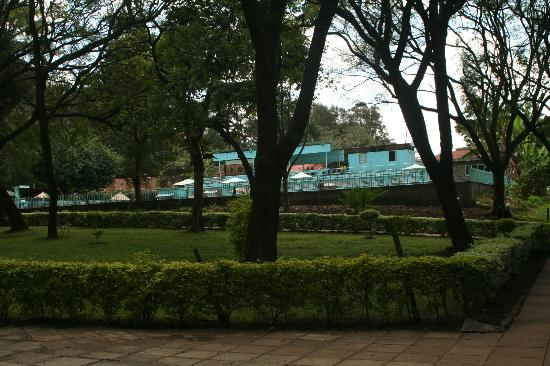 YMCA Nairobi (Central Branch): View of the pool