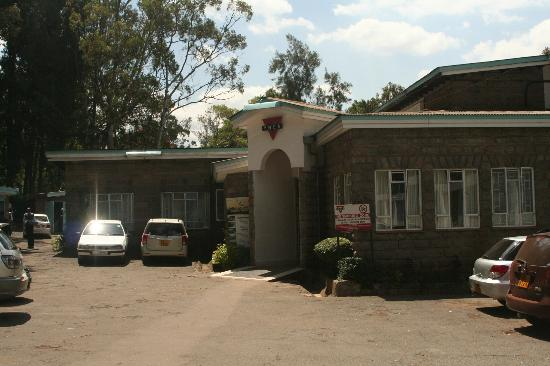 YMCA Nairobi (Central Branch): Entrance