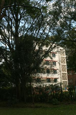 YMCA Nairobi (Central Branch): One of the accommodation blocks