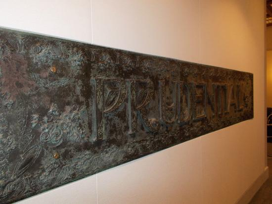 Guaranty / Prudential Building: Sign