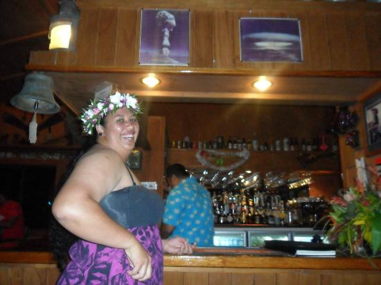 The Boat Shed Bar & Grill : Bambie one of the lovely workers at The Boatshed