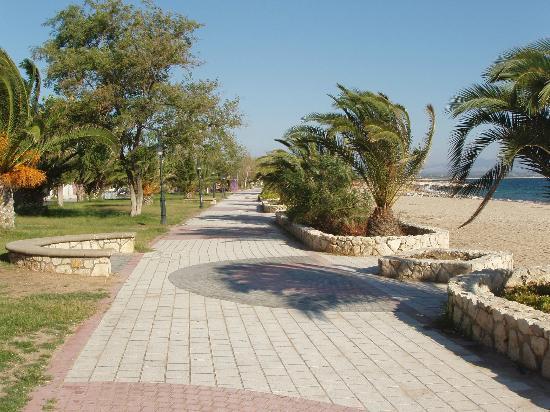 Golden Beach Hotel: Promenade - Nea Potidea -